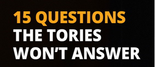 15 questions Tories won't answer