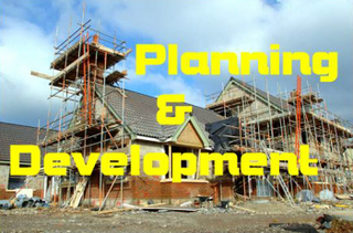 Planning and Development header