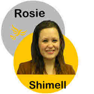 Rosie picture as logo