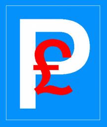 Parking Logo with Pound Sign