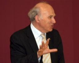 Dr Vince Cable speaking in Spelthorne