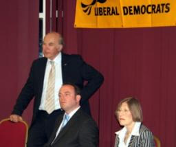 Vince Cable answered questions on a range of subjects from an enthusiastic audience