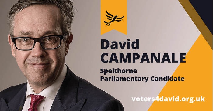 Vote for David Campanale in the General Election 2019