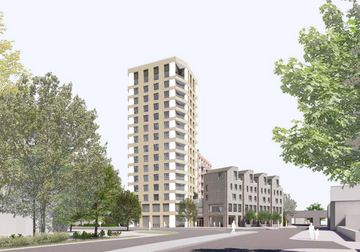 Development at Thameside, Staines (Spelthorne Borough Council)