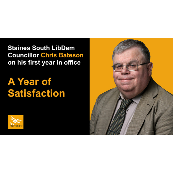 Spelthorne Liberal Democrat Councillor Chris Bateson (Spelthorne Borough Council)