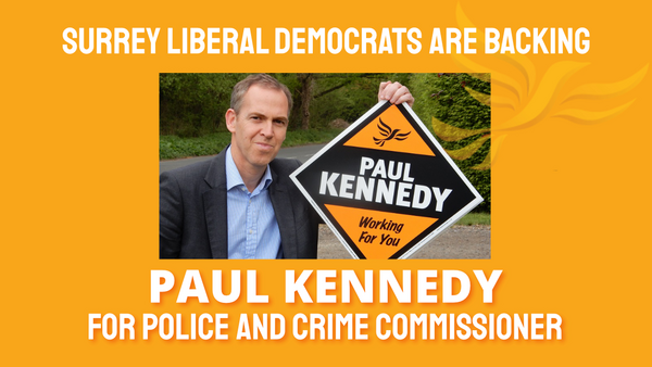 Spelthorne Liberal Democrats Paul Kennedy Police and Crime Commissioner Candidate (Spelthorne Liberal Democrats)