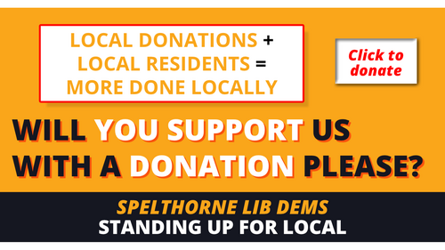Spelthorne Liberal Democrats Donate ()