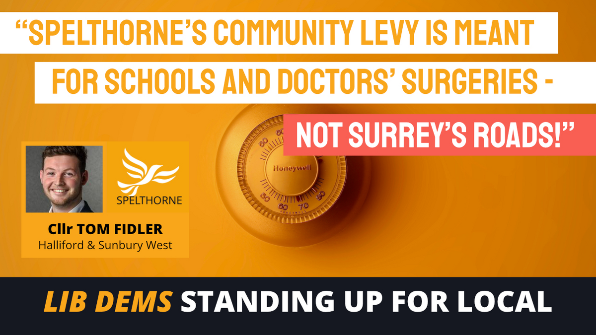 Spelthorne Liberal Democrats Misallocation of CIL funds ()