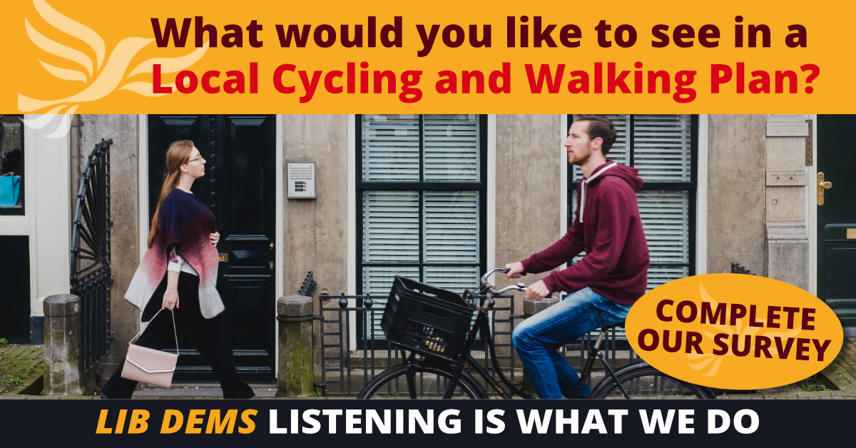 Spelthorne Liberal Democrats Local Cycling and Walking Infrastructure Plan LCWIP ()