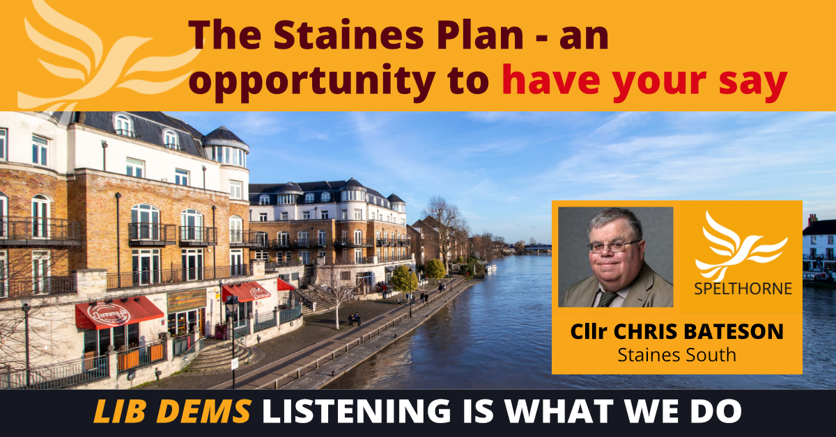 Spelthorne Liberal Democrats - Our view on the Staines Plan ()